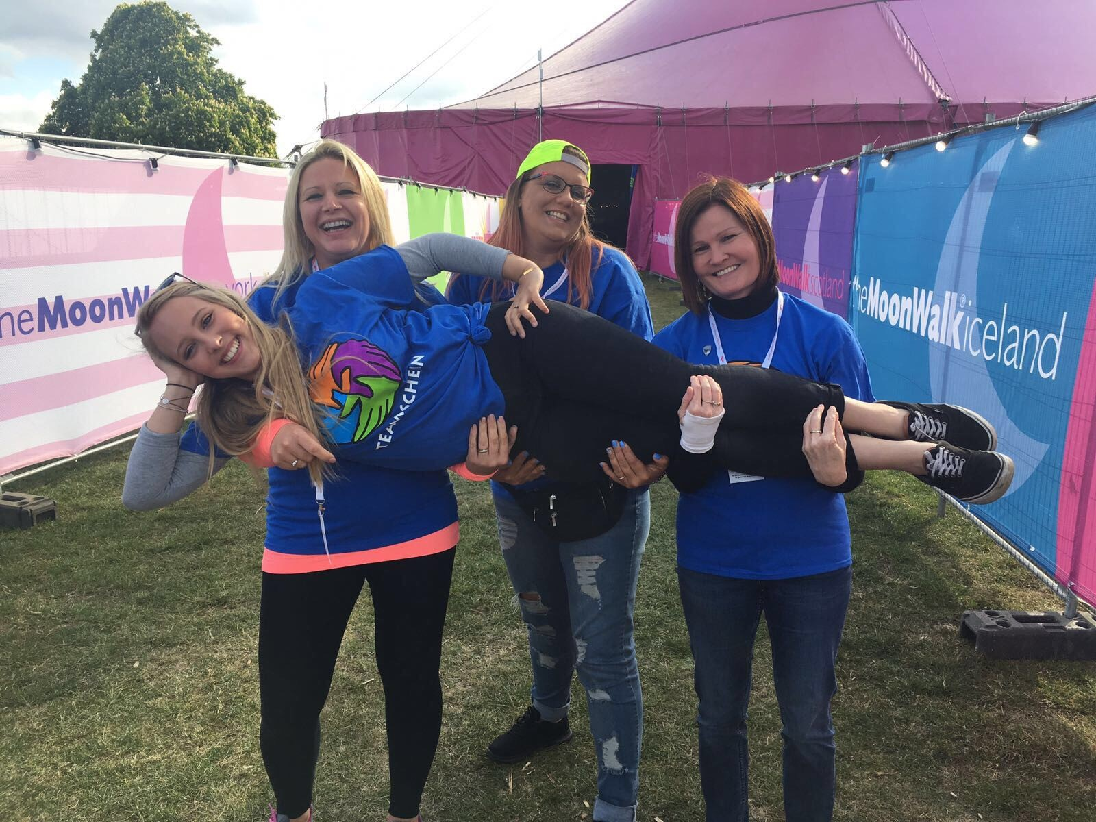 Henry's Angels Continue To Support The MoonWalk London To Raise Awareness Of Breast Cancer.