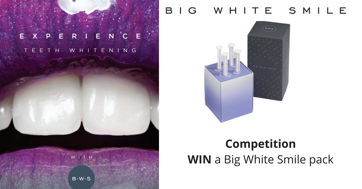 Celebrate The Big White Smile Launch With Henry Schein With Our Competition To WIN 1 Of 5 Big White Smile Packs