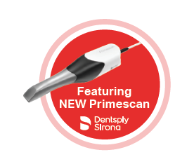 Dentsply Sirona featuring new primescan