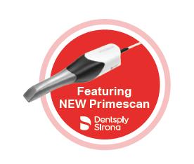 Dentsply Sirona featuring new primescan