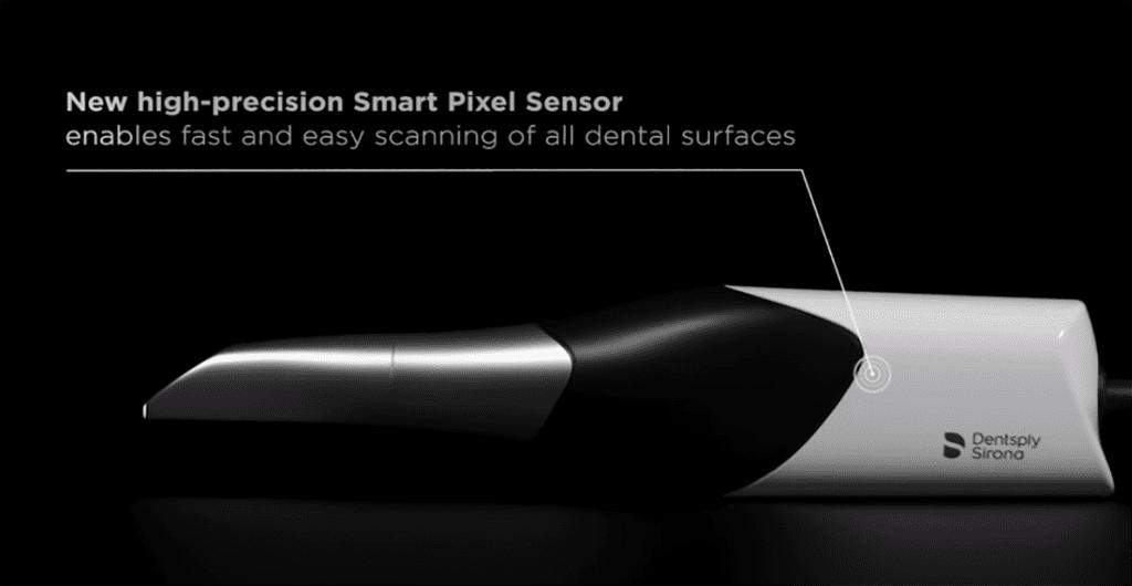 CEREC Primescan - new high-precision Smart Pixel Sensor