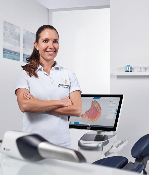 Dr. Verena Freier, Dentist Testimonial CEREC Primescan