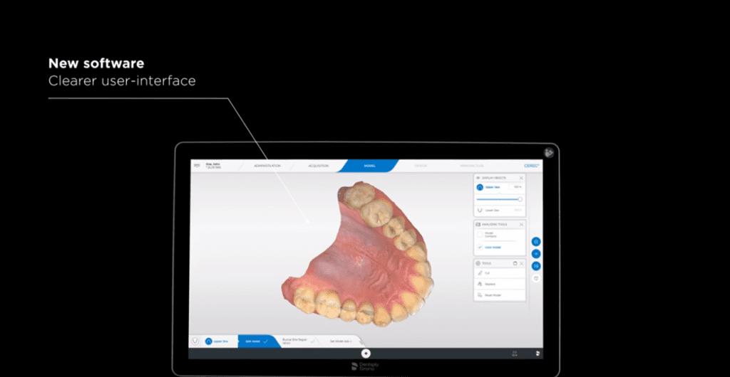 CEREC Primescan - clearer user interface
