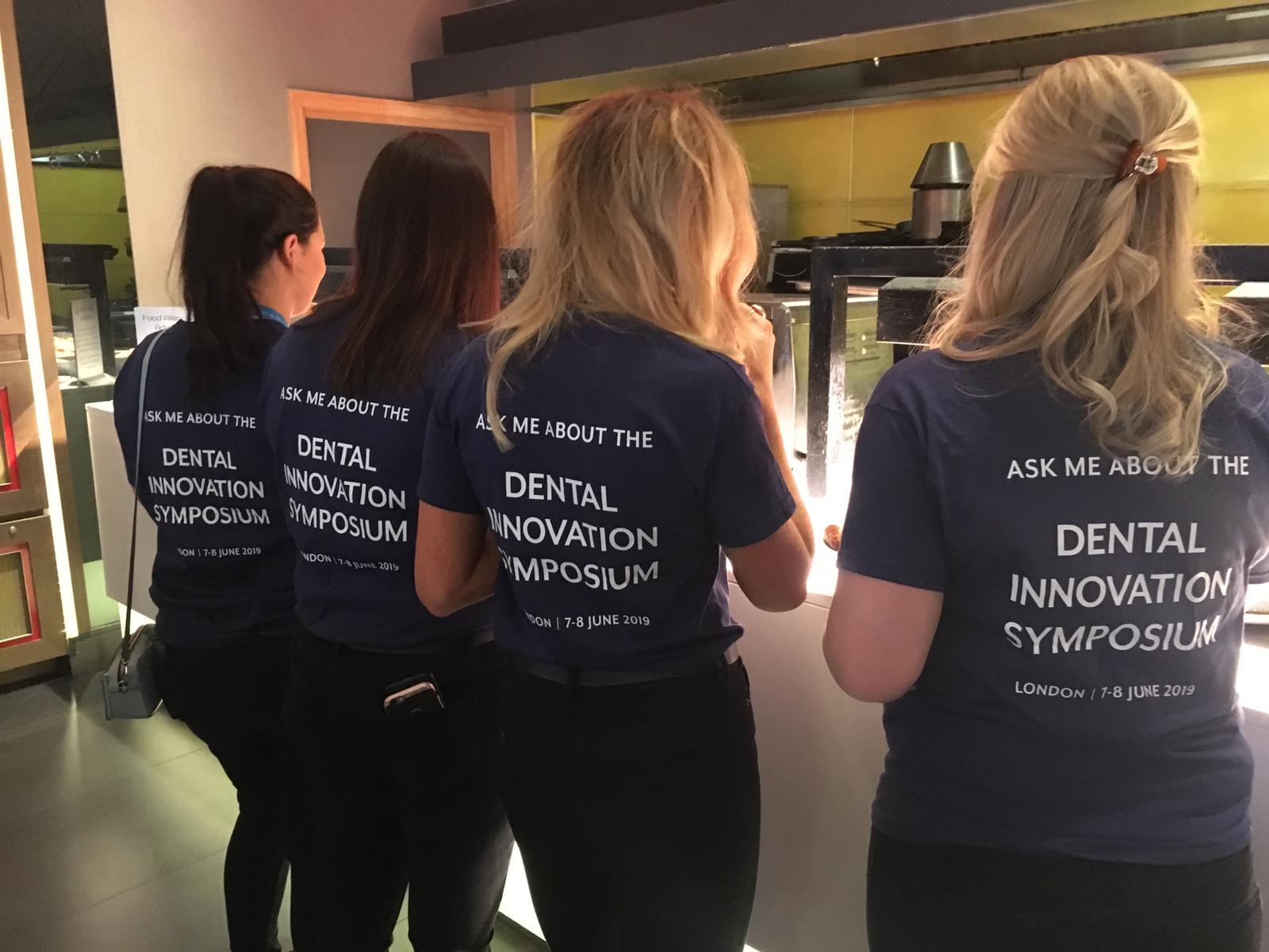 Dental Innovation Symposium Staff Branded Tshirts