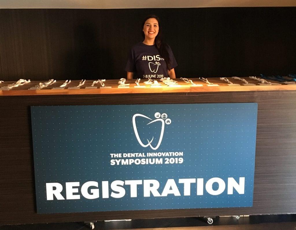 Registration at the Dental innovation Symposium 2019